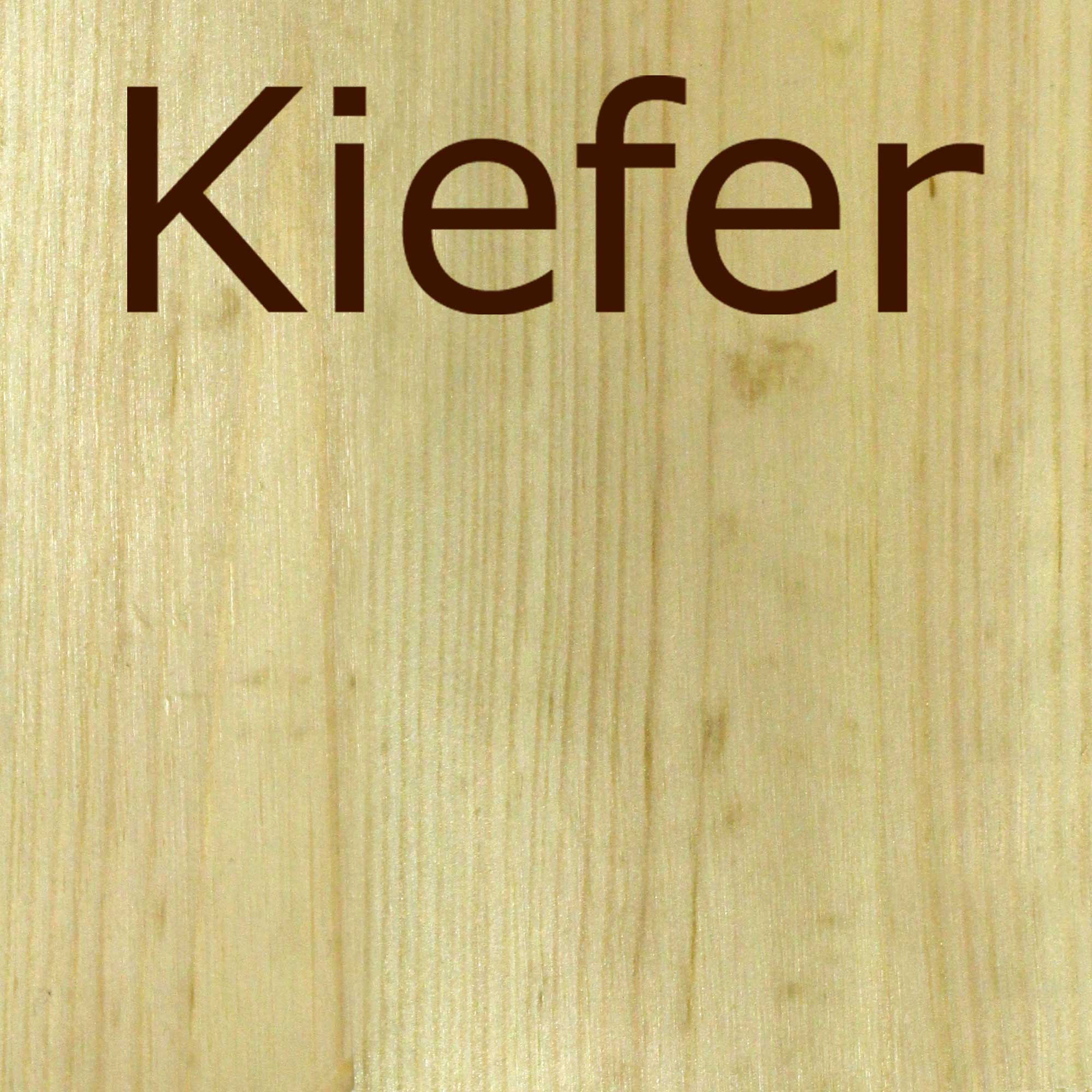 Kiefer natural hell, lackiertes Holz